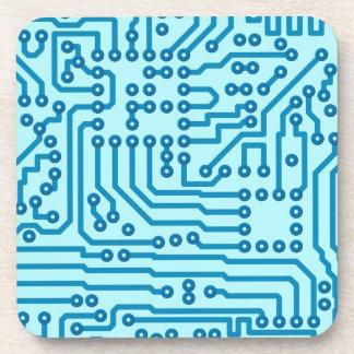 Electronic Digital Circuit Board Coaster