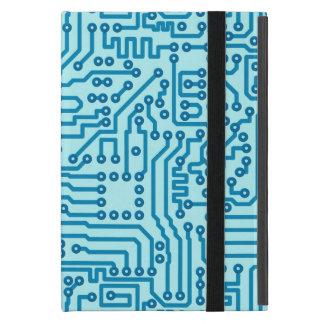 Electronic Digital Circuit Board iPad Mini Cover