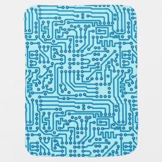 Electronic Digital Circuit Board Receiving Blanket