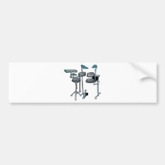 electronic drum set bumper stickers