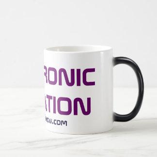 Electronic Education Podcast Morphing Raver Mug