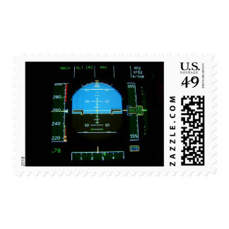 Electronic Flight Display Postage