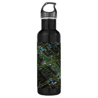 Electronic Geekery 24oz Water Bottle