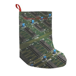 Electronic Geekery Small Christmas Stocking
