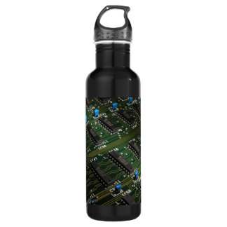 Electronic Geekery Water Bottle