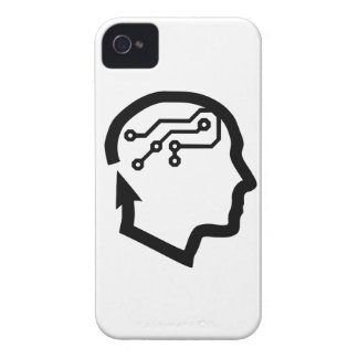 Electronic head iPhone 4 case