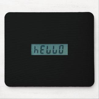 Electronic Hello Display Message Mousepad