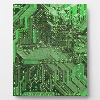 Electronic High Tech Technology Circuit Board Plaque