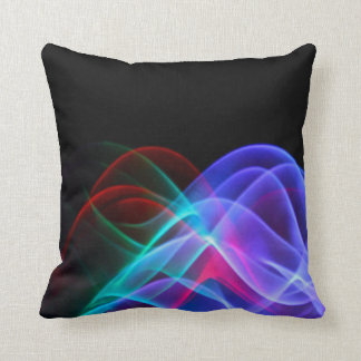 Electronic Jellyfish Throw Pillow