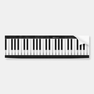 Electronic Keyboard Bumper Sticker