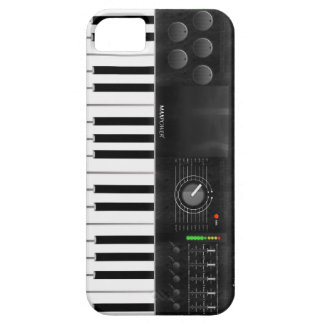 Electronic Keyboard iPhone 5 Cases