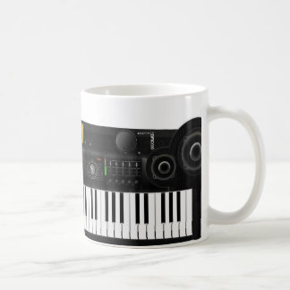 Electronic Keyboard Coffee Mug