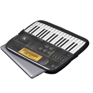 Electronic keyboard computer sleeve