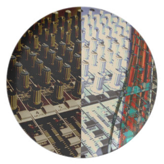 Electronic Knobs Plate