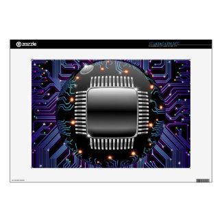 Electronic Motherboard Circuit 15 Laptop Skin