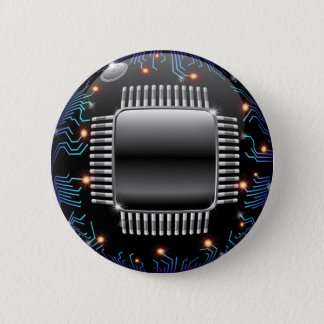 Electronic Motherboard Circuit Button