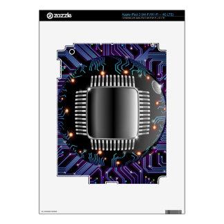 Electronic Motherboard Circuit iPad 3 Skin