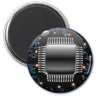 Electronic Motherboard Circuit Magnet