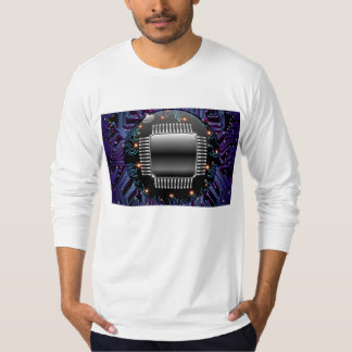 Electronic Motherboard Circuit Tee Shirt
