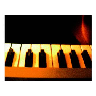 Electronic music 4 postcard