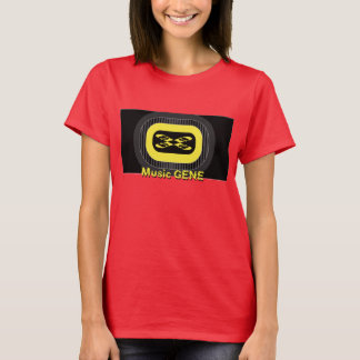 Electronic Music DNA Style Design T-Shirt