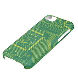 Electronic PCB iPhone 5C Cover