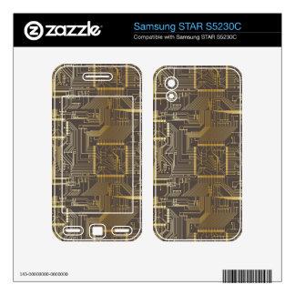 Electronic PCB Samsung STAR S5230C Skin