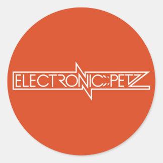 ELECTRONIC PETZ   STIKER CLASSIC ROUND STICKER