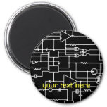 electronic project 2 inch round magnet
