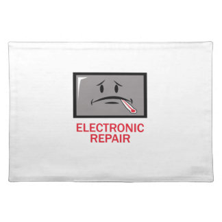 ELECTRONIC REPAIR CLOTH PLACEMAT