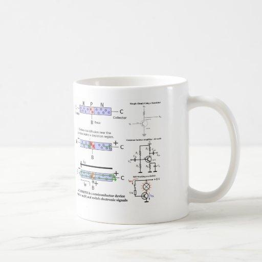 Electronic Signal Amplify Transistor Semiconductor Coffee Mug