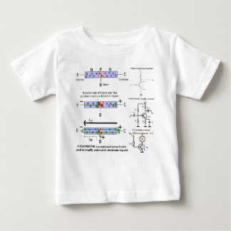 Electronic Signal Amplify Transistor Semiconductor T-shirts
