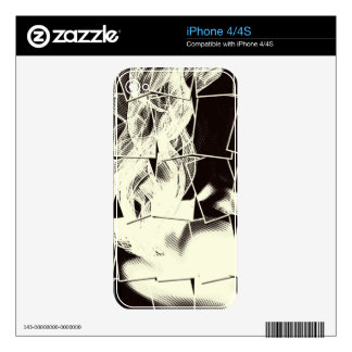 Electronic skins iPhone 4 decals