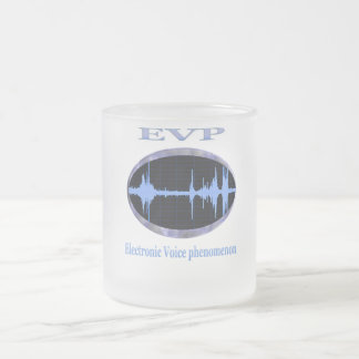 Electronic Voice phenomenon products Frosted Glass Coffee Mug