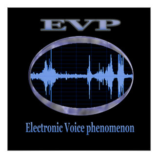 Electronic Voice phenomenon products Poster