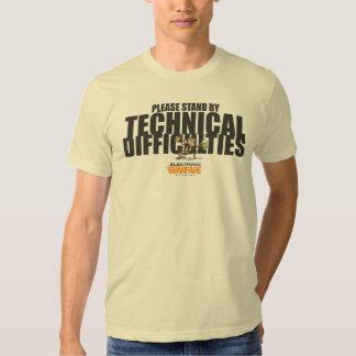 Electronic Warfare Studios Technical Difficulties T Shirt