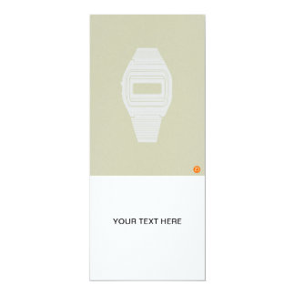Electronic watch card