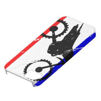 ELECTRÓNICA de la Suciedad-Bici de la libertad Funda Para iPhone 5 Barely There