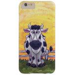 Electrónica de la vaca funda de iPhone 6 plus barely there