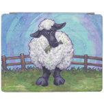 Electrónica de las ovejas cubierta de iPad