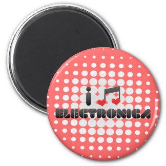 Electronica fan magnet