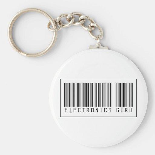 Electrónica Guru del código de barras Llaveros Personalizados