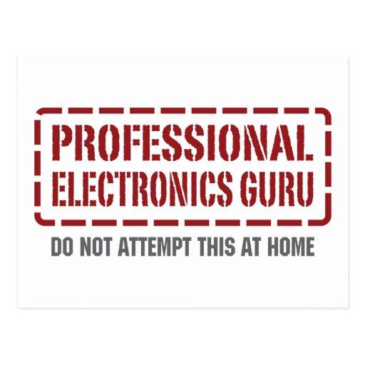 Electrónica profesional Guru Postal