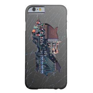Electrónica quebrada funda barely there iPhone 6