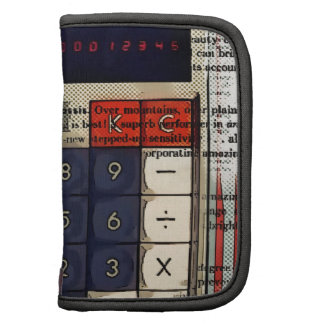 Electrónica retra de la calculadora abstracta del