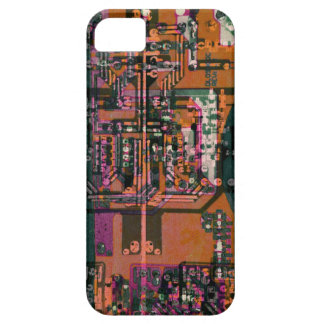 electronics artistic circuit board collage iPhone SE/5/5s case