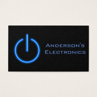 Electronics Business Card