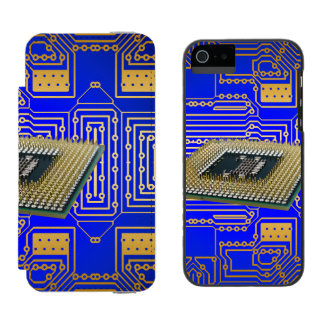 Electronics Circuit Board iPhone SE/5/5s Wallet Case