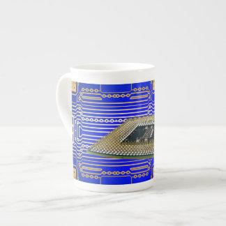 Electronics Circuit Board Porcelain Mugs