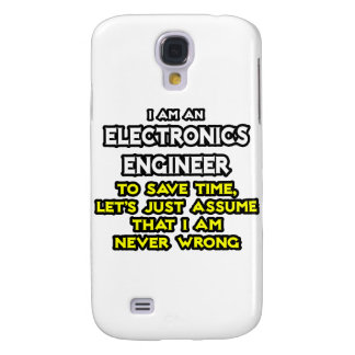 Electronics Engineer ... Never Wrong Galaxy S4 Covers